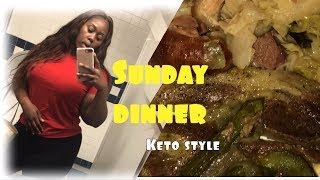 Sunday dinner   keto style  