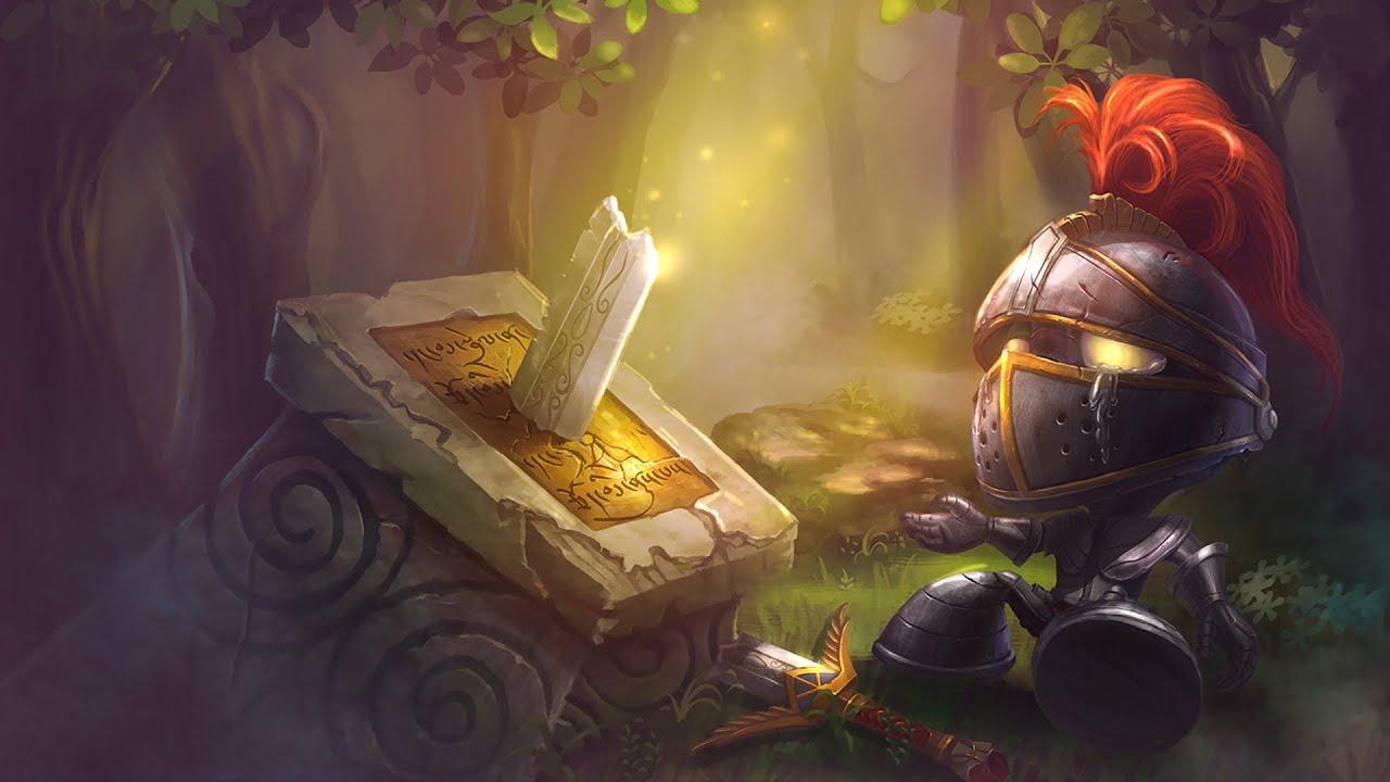 little knight amumu skin spotlight youtube