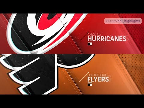 Carolina Hurricanes vs Philadelphia Flyers Jan 3, 2019 HIGHLIGHTS HD