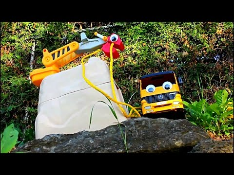Digger Land: Episode 1  a Zerby Derby esque homage to Diggers and Bruder Construction Toys
