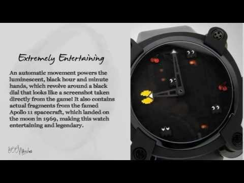 View This Romain Jerome Moon Invader Pac Man RJ.M.AU.IN.009.02 Auto Watch