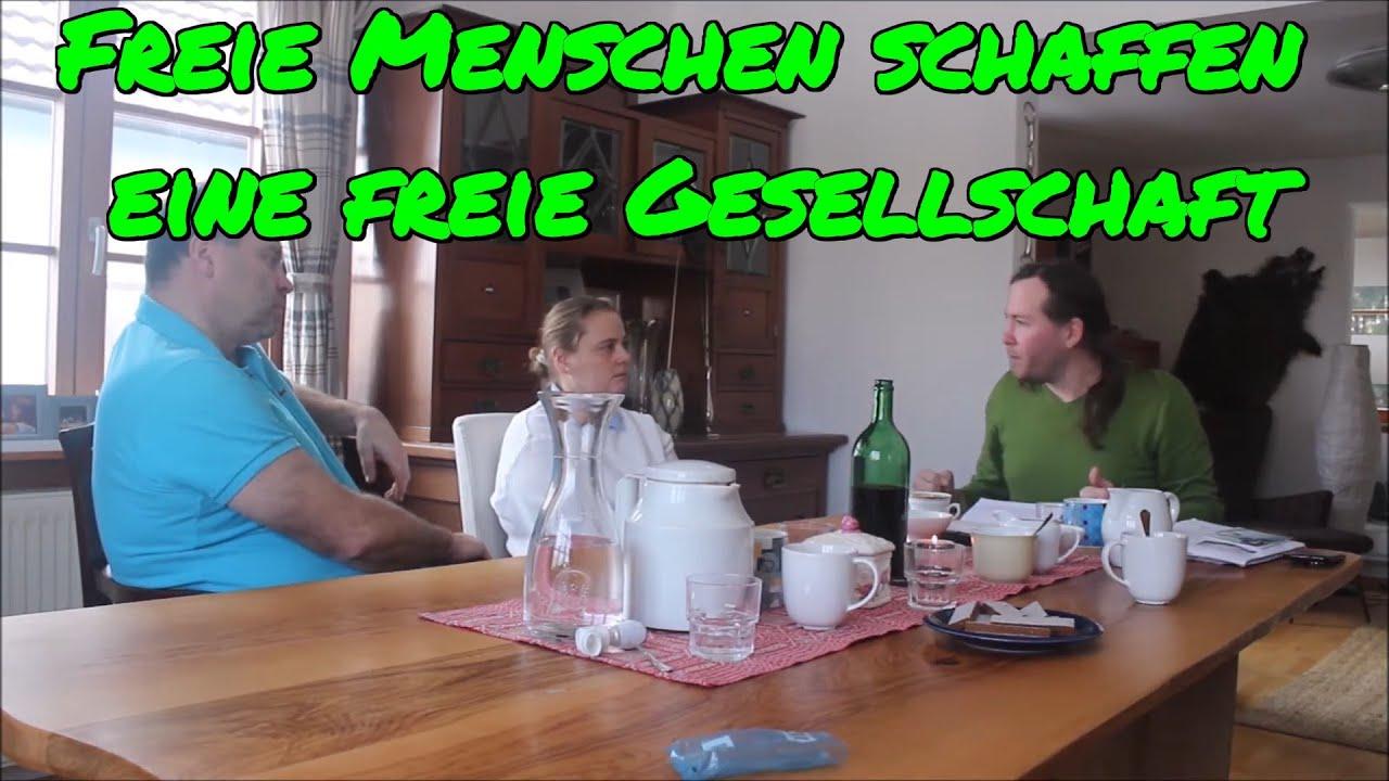 FREIE MENSCHEN SCHAFFEN EINE FREIE GESELLSCHAFT: Christian im Gespräch mit Dr. Rösch, Dr. Schiessler