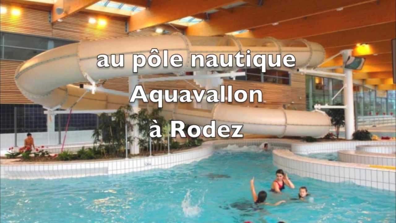 Piscine aquavallon rodez youtube for Cash piscine rodez