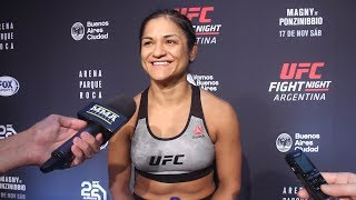 UFC Argentina: Cynthia Calvillo Says Weigh-In Was Scary Because She Didn