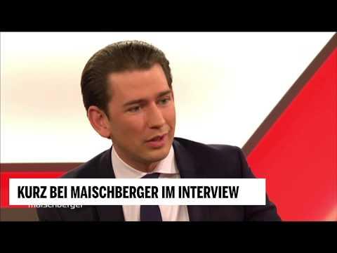 Kurz bei Maischberger im Interview