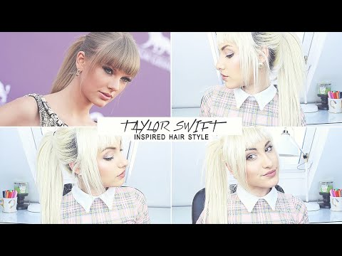 Taylor Swift Inspired Hair Style | TUTORIAL