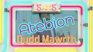 5am5 Dydd Mawrth - Atebion