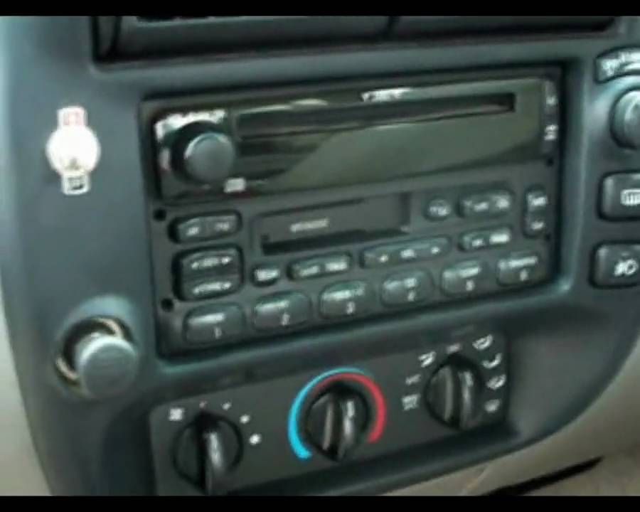1997 Ford F 150 Radio Wiring My 99 Ford Explorer Audio System Youtube