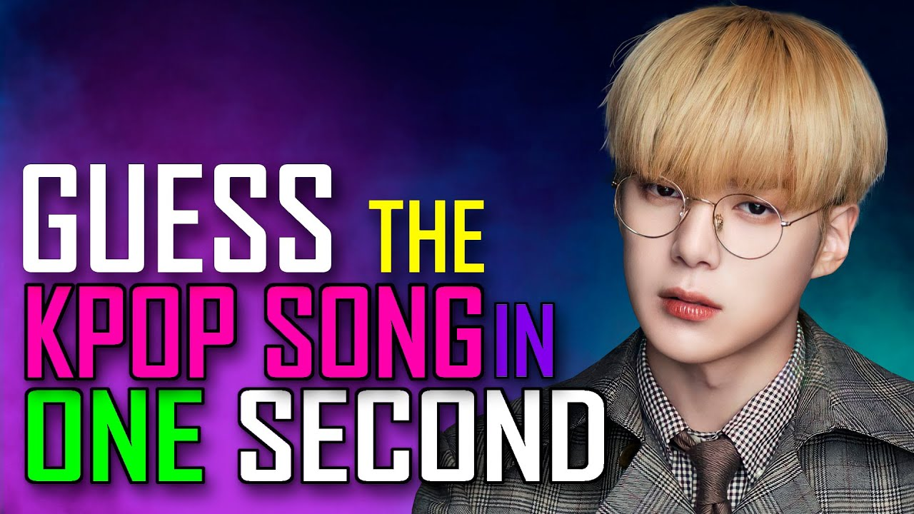 [KPOP GAME]  CAN YOU GUESS THE KPOP SONG IN ONE SECOND