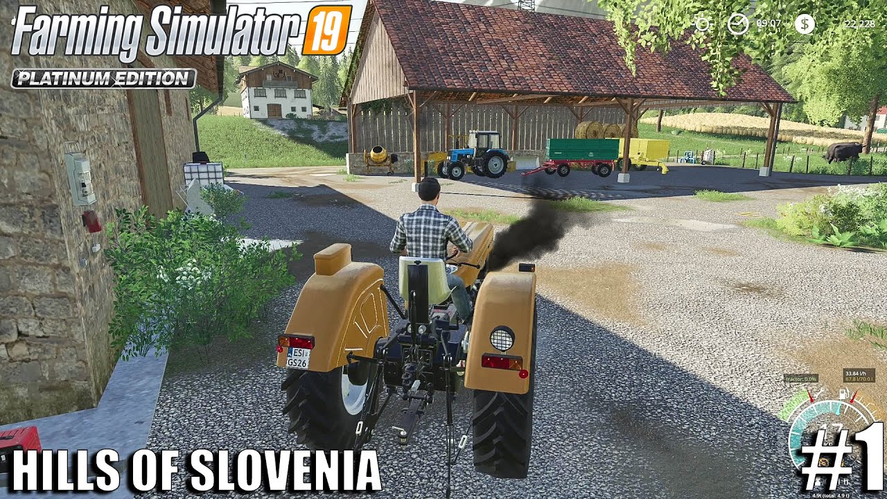 Download My FIRST DAY on the Farm | The Hills Of Slovenia | Farming Simulator19 | #1