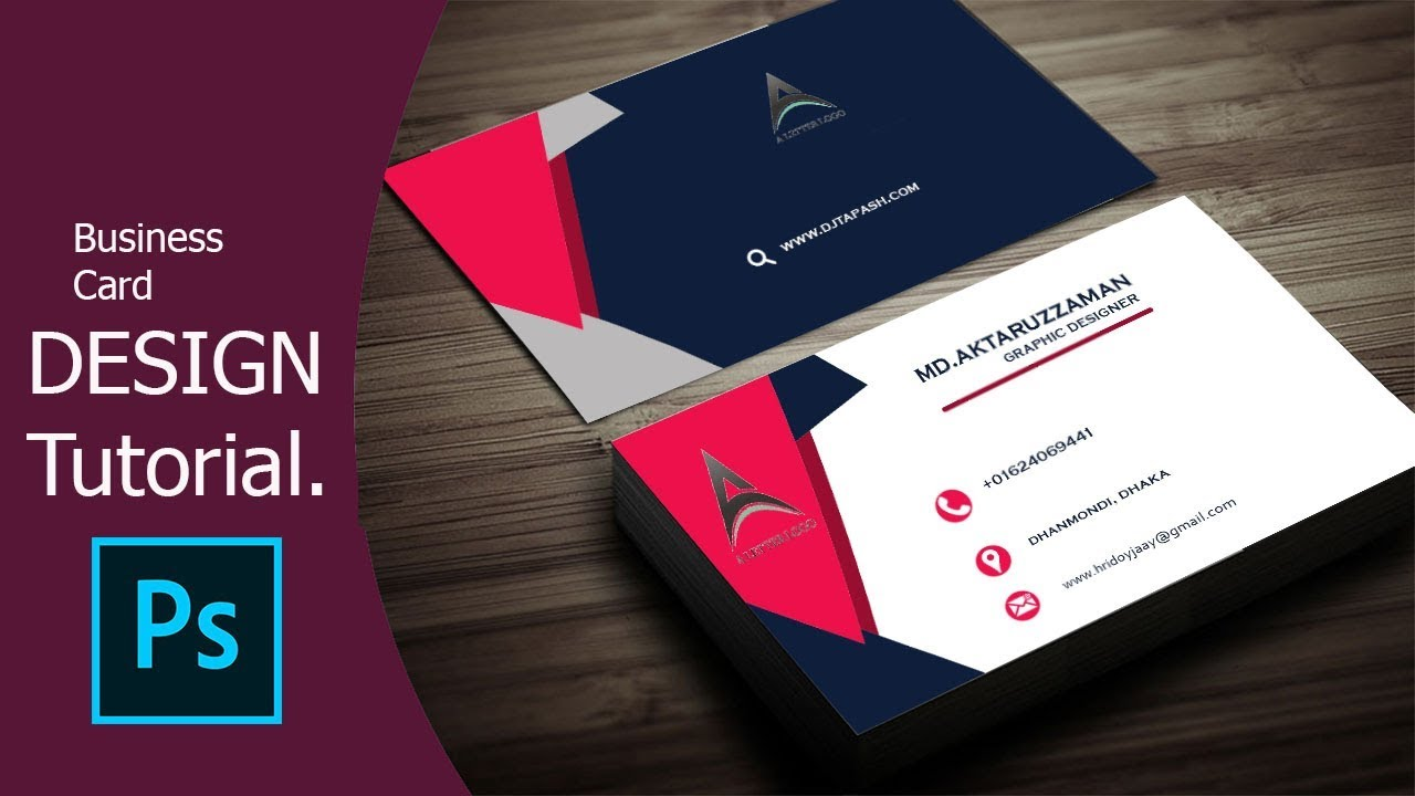 How to design an eye catching business card in photoshop youtube how to design an eye catching business card in photoshop colourmoves