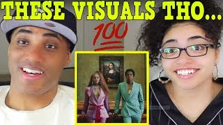 APES**T - THE CARTERS REACTION | The Music Video ?