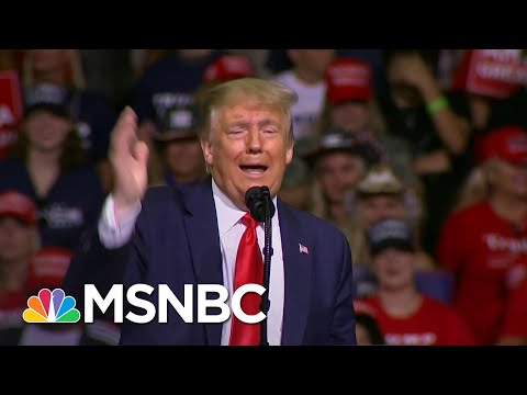 Trump Says He Asked 'To Slow Testing Down' For Coronavirus Because Of Increased Cases | MSNBC