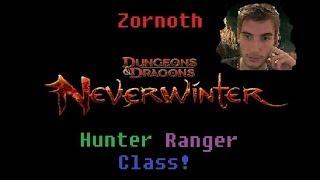 Neverwinter - Hunter Ranger Skill Tree! (Level 40 Gameplay)