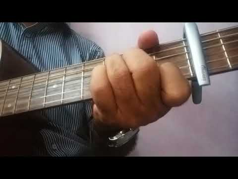 SAI BABA BHAJAN/ FOR PEACE , Pain reliefAND happiness OF MIND/ ON GUITAR CHORDS