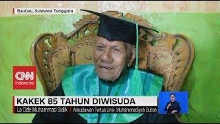 Kakek Wisuda di Usia 85 Tahun dengan IPK 3,5