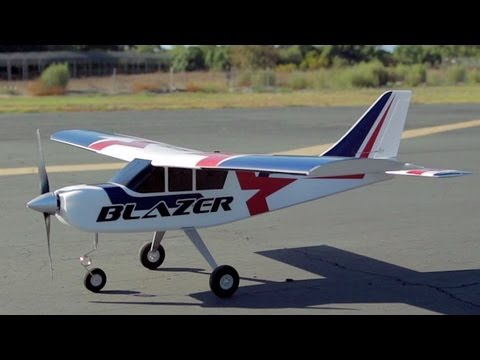 New Airfield Blazer Trainer RC Plane Review
