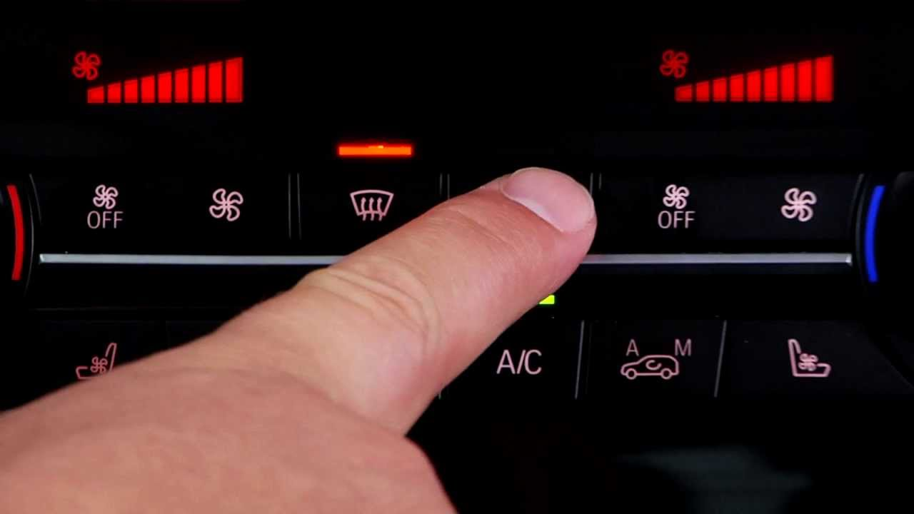 HVAC Controls | BMW Genius How-To
