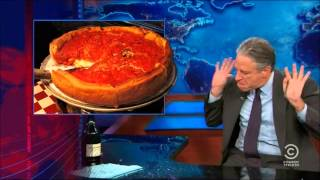 Jon Stewart and Deep Dish Pizza
