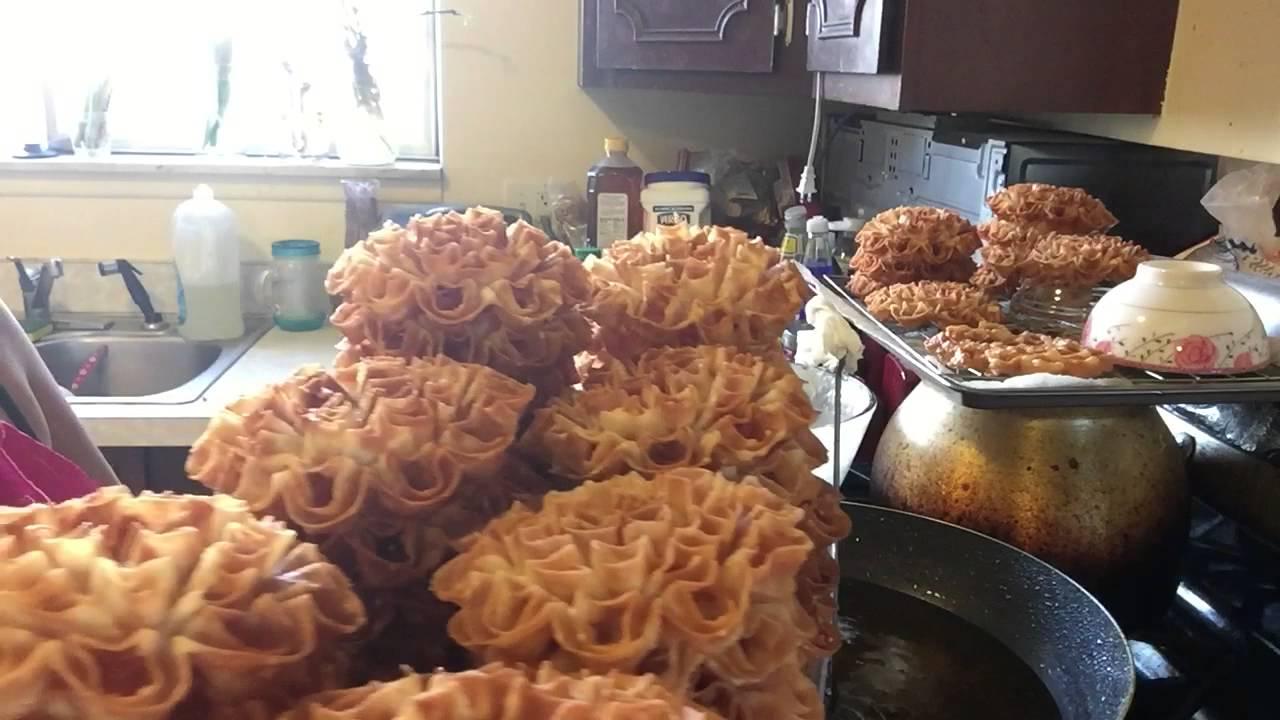 Cooking lotus thai flower cookies part 2 youtube izmirmasajfo