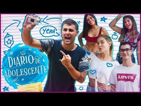 DIÁRIO DE ADOLESCENTE - NOVA SERIE DO CANAL!! [ REZENDE EVIL ]