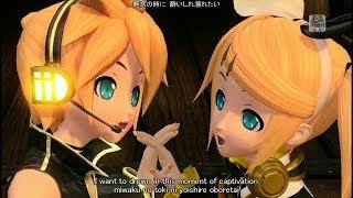 Repeat youtube video [60fps Rin Len Full風] Magnet マグネット - Kagamine Rin Len DIVA 鏡音リン レン DIVA English lyrics romaji