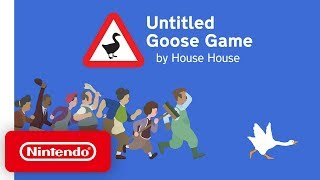 Untitled Goose Game - Release Date Trailer - Nintendo Switch