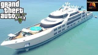 Avoir le Yacht de luxe dans le mode histoire de gta 5 #1