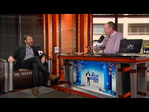 Actor Bryan Cranston of New Film 'Why Him?' Joins The RE Show in Studio - 12/19/16
