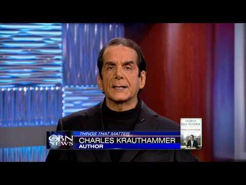 Charles Krauthammer: Things That Matter