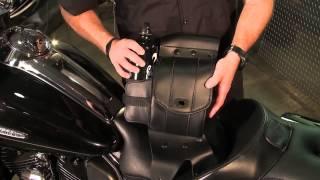 HC-01-0715 Saddlemen Cruisn Deluxe Saddlebag Guard Bags for 1997-2013 Harley-Davidson Touring models