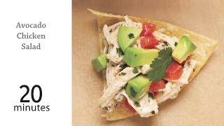 How To Make Easy Avocado Chicken Salad | Myrecipes