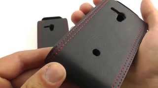 Обзор: Оригинальный Чехол-Флип для Sony Xperia Neo L MT25i. ОБЗОР!