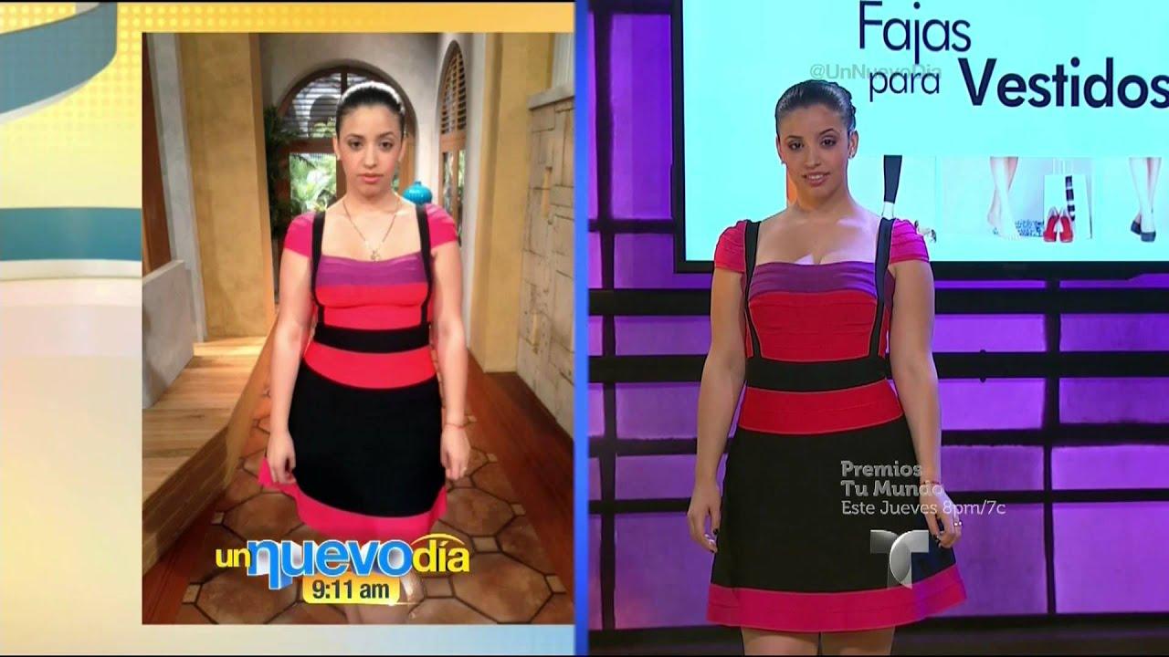 Fajas Para Usar Vestidos Un Nuevo Día Telemundo