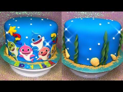 Baby Shark Cake Youtube