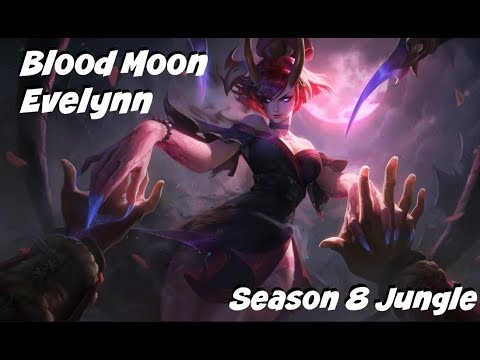 League of Legends: Blood Moon Evelynn Jungle Gameplay