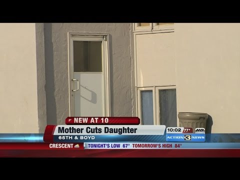 Omaha Mother Accused of Cutting Teen Daughter