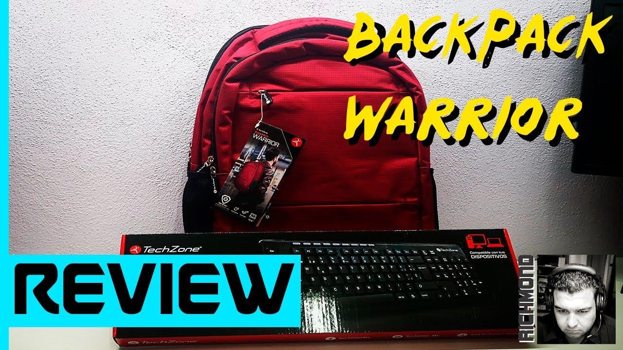 BACKPACK WARRIOR TECHZONE | Review con El Richmond