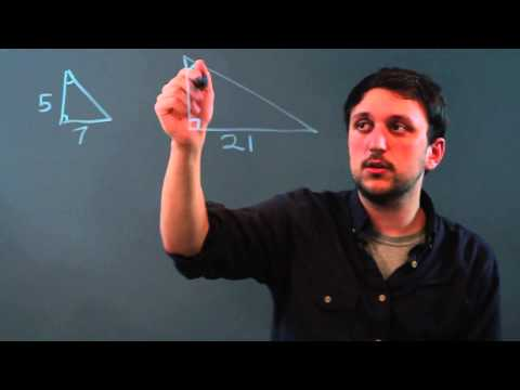 How to Calculate the Scale Factor of Two Shapes