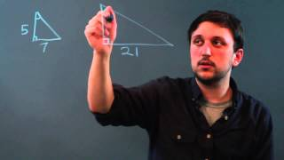 How Calculate Scale Factor Two Shapes
