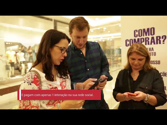 Case MiTOU para BR Malls . Formato Pop Up Store do MiTOU no Shopping Jardim Sul