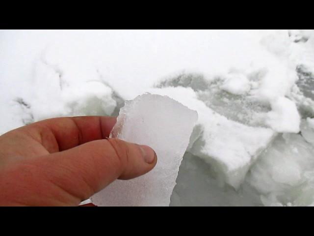 Тот самый лед... стремный лед))))