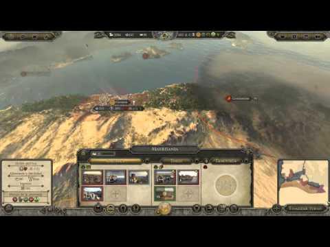 Attila total war  campaña garamantes  cap 4  reorganizacion