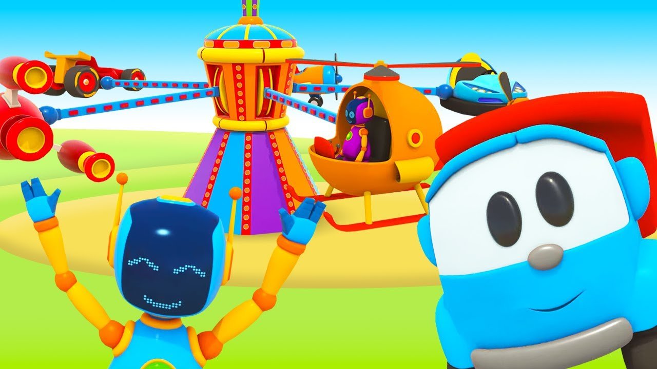 Download Eğitici çizgi film. Küçük kamyon Leo ve karusel! Türkçe izle!