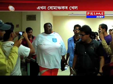 Women Sumo Wrestler at Guwahati International Trade Fair Primenews Exclusive