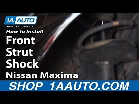 How To Install Replace Front Strut Shock 2002-04 Nissan Maxima