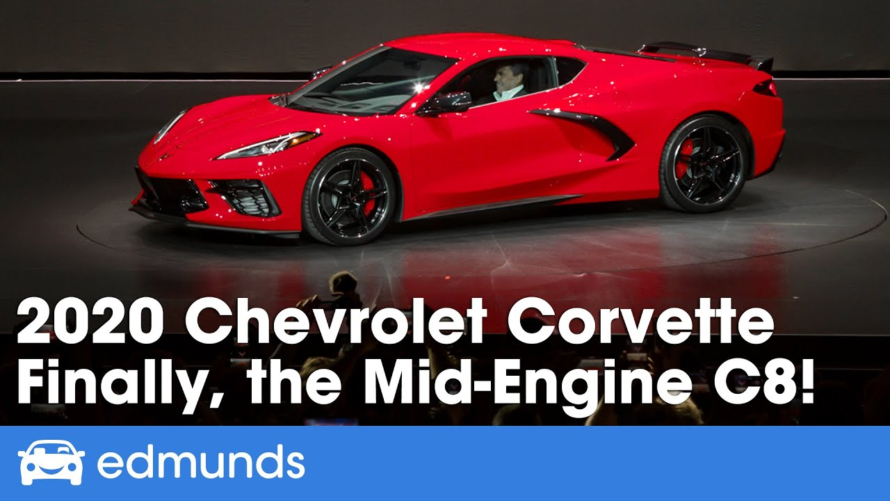 C8 Corvette Release Date >> 2020 Chevrolet Corvette C8 Reveal Finally A Mid Engine Corvette