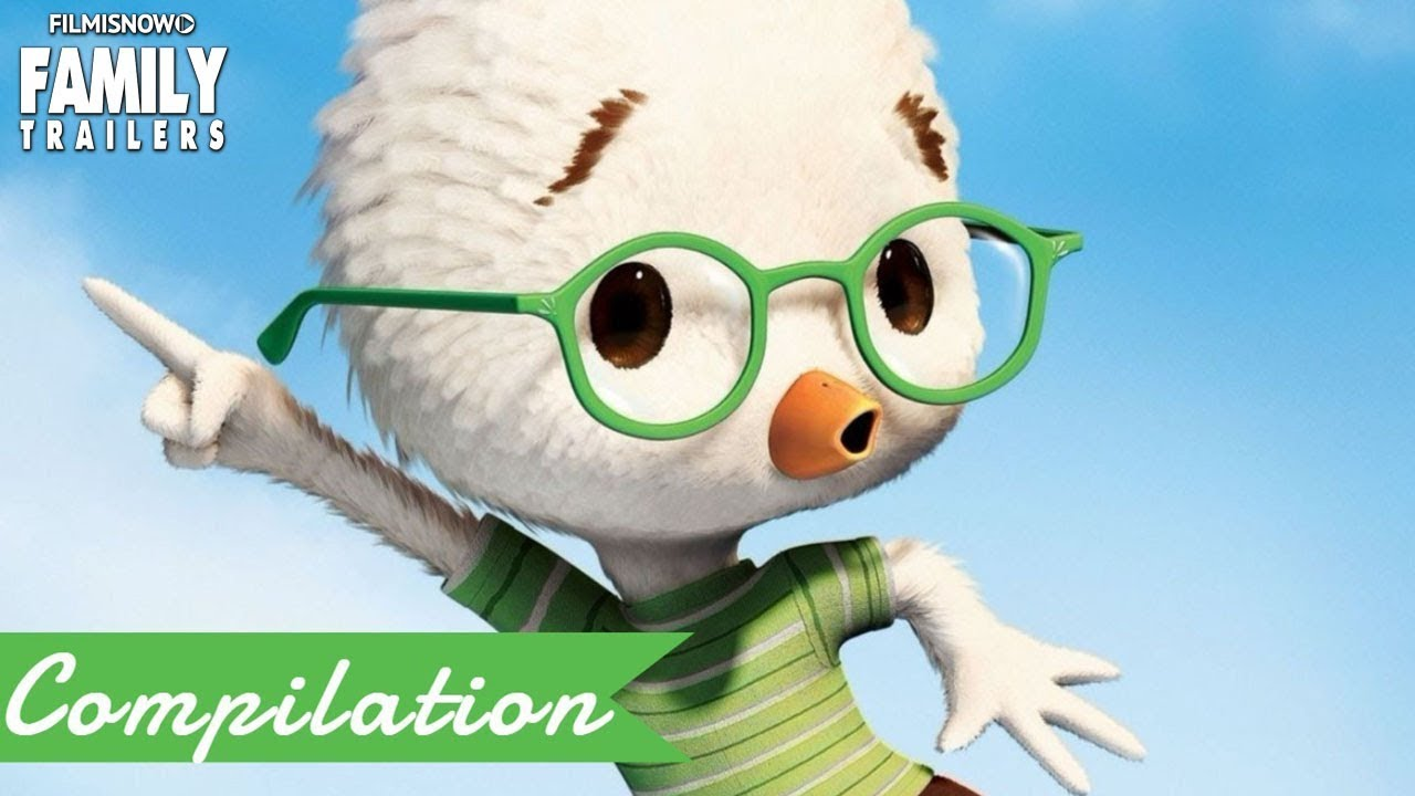 Chicken Little All The Best Clips And Trailer Compilation For