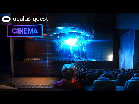 Oculus Quest Watching Movies With Friends | BRAND NEW Bigscreen Cinema
