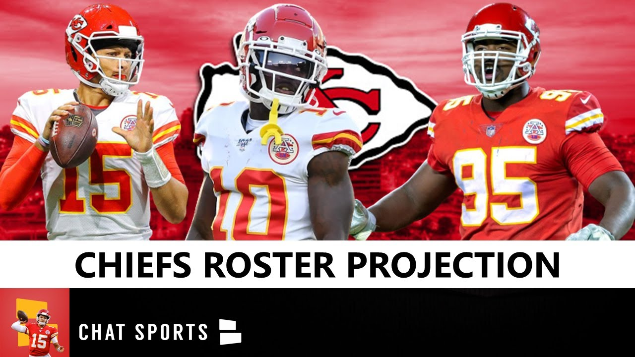 Updated Chiefs 53-man roster for divisional round